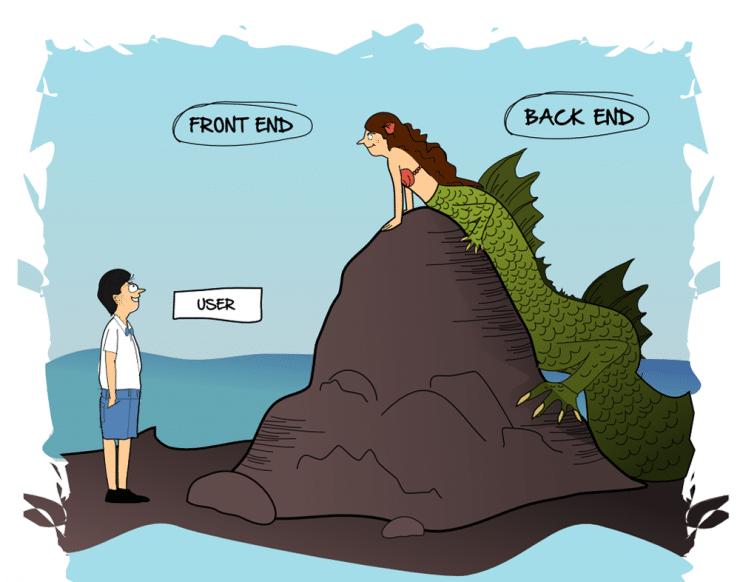 cosa sono la programmazione front end e back end