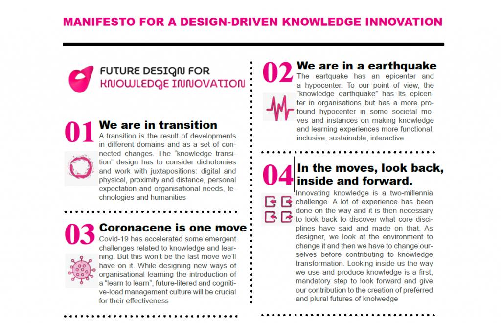 Future Design for knowledge innovation